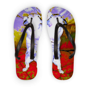 Pug Flip Flops - Art Beauty Fashion