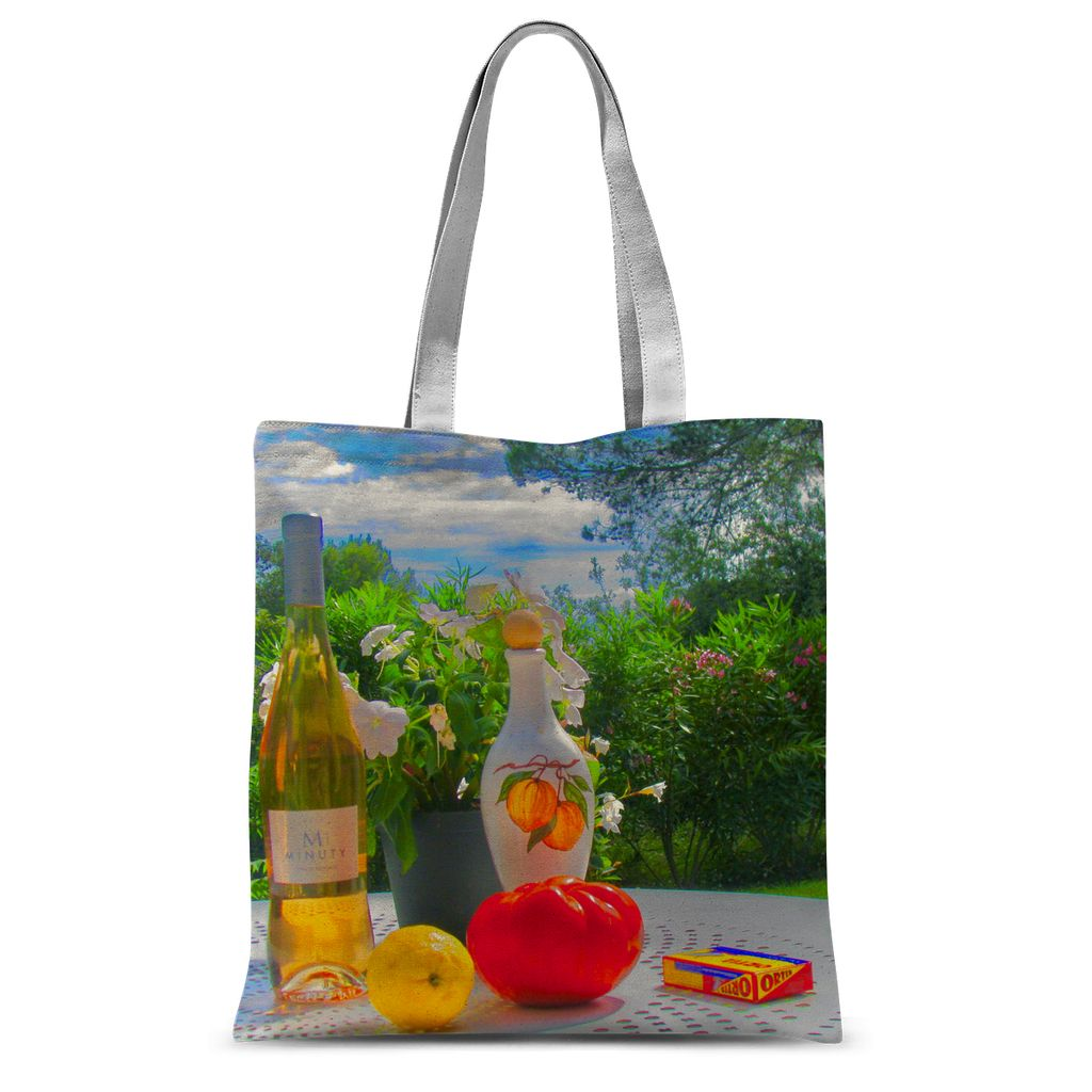 Summer Style Study - Sublimation Tote Bag - Art Beauty Fashion