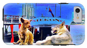 Dogs And The Mekong River - Phone Case - Art Beauty Fashion