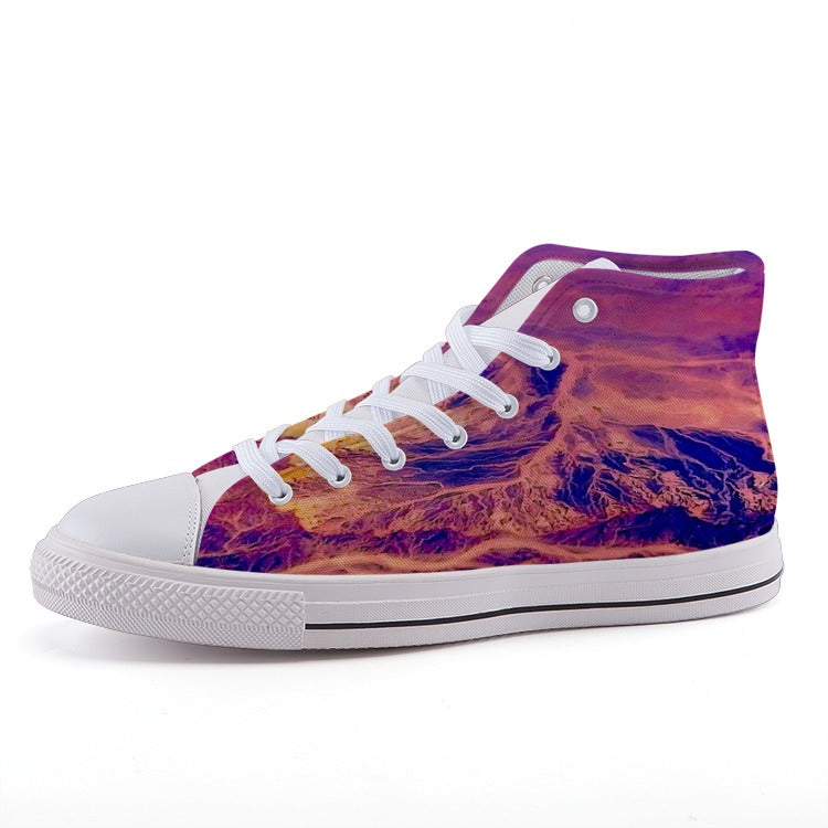Designer - High-top fashion canvas shoes - Art Beauty Fashion
