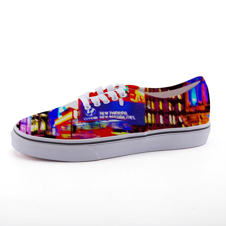 Colourful, trendy and young and fresh - Low-top fashion canvas shoes - Art Beauty Fashion