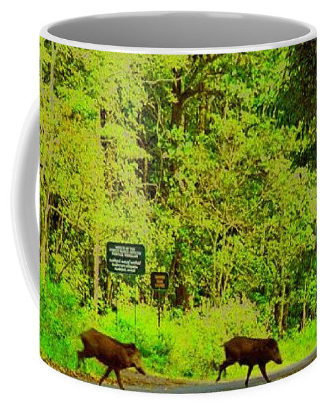 Jungle Wild Bores - Mug - Art Beauty Fashion