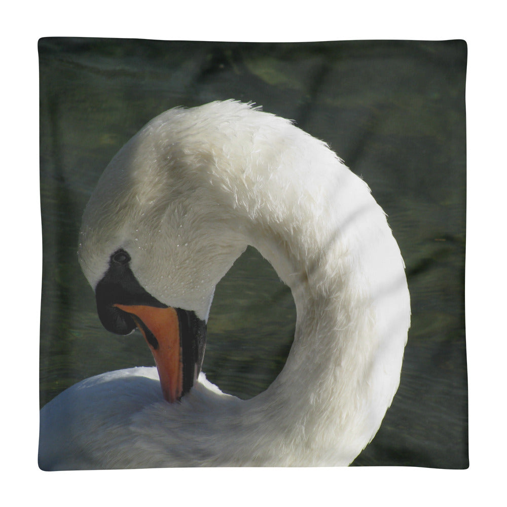 Swan Beauty - Square Pillow Case only - Art Beauty Fashion