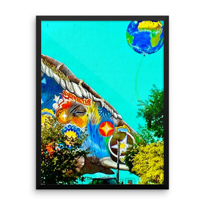 Framed photo paper poster - Art Beauty Fashion