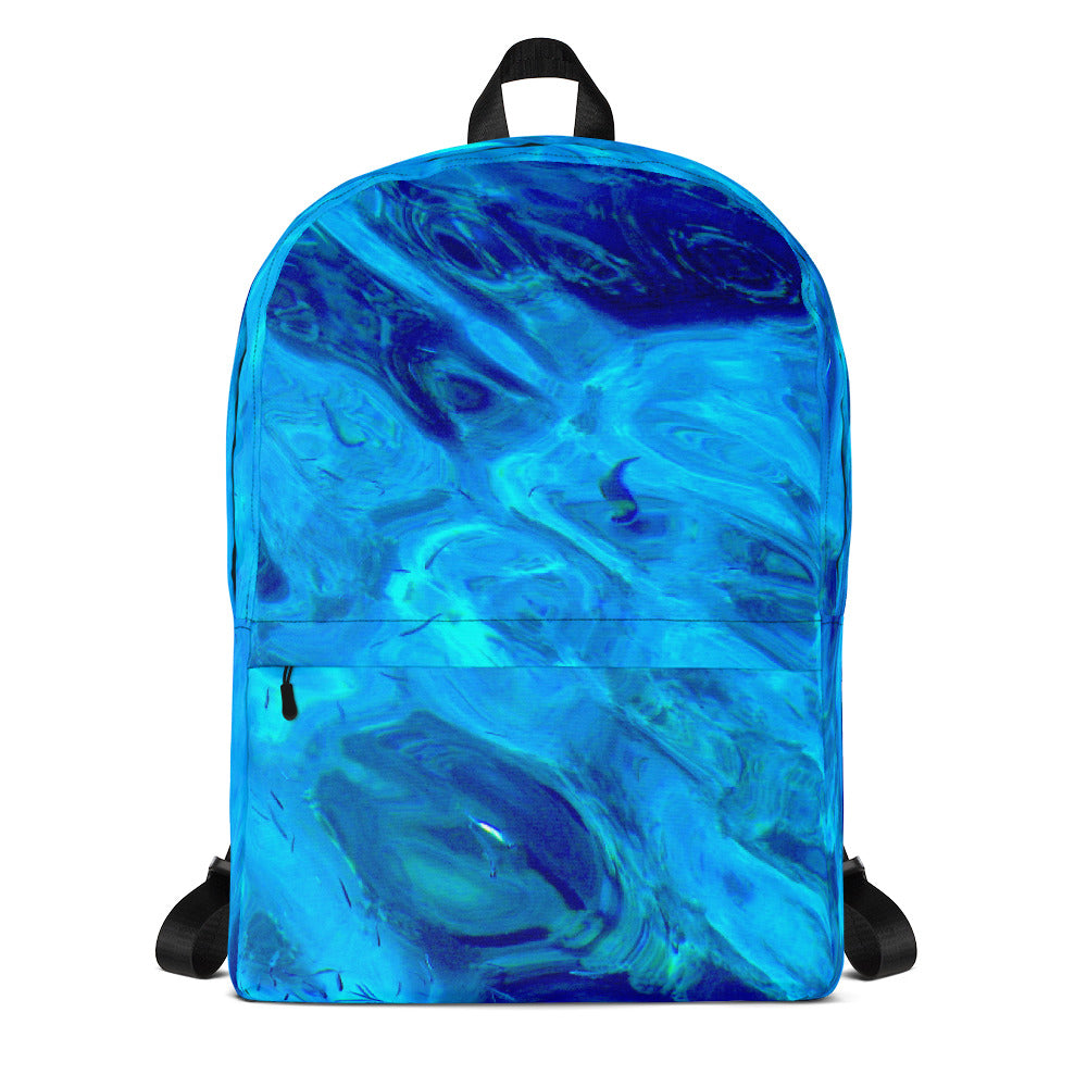 Ocean Design Study-  Designer - Backpack - Art Beauty Fashion