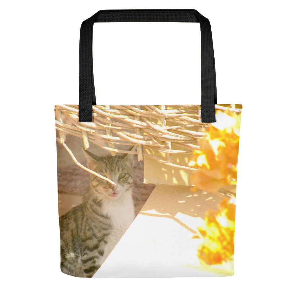 Sweet Cat - Tote bag - Go to the Beach, City or Shopping with this Sweet Cat Bag - Art Beauty Fashion
