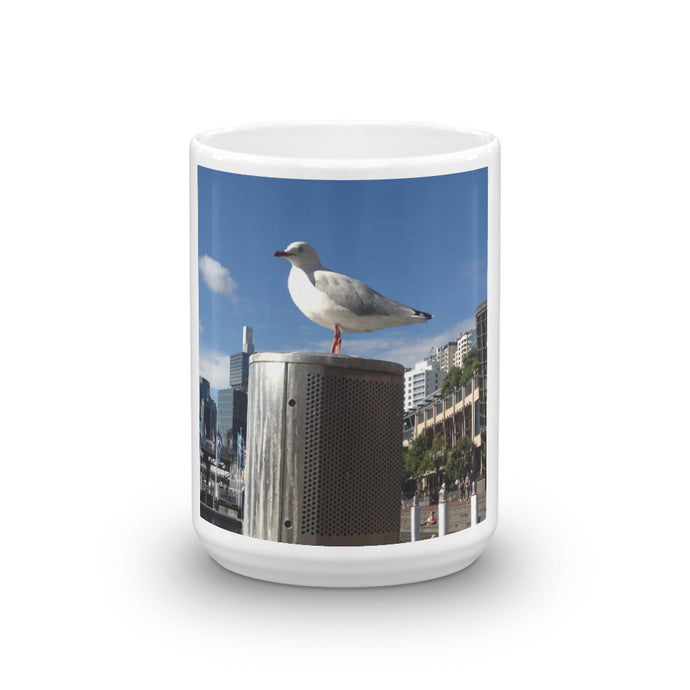 Sydney Seagull. Mug - Art Beauty Fashion