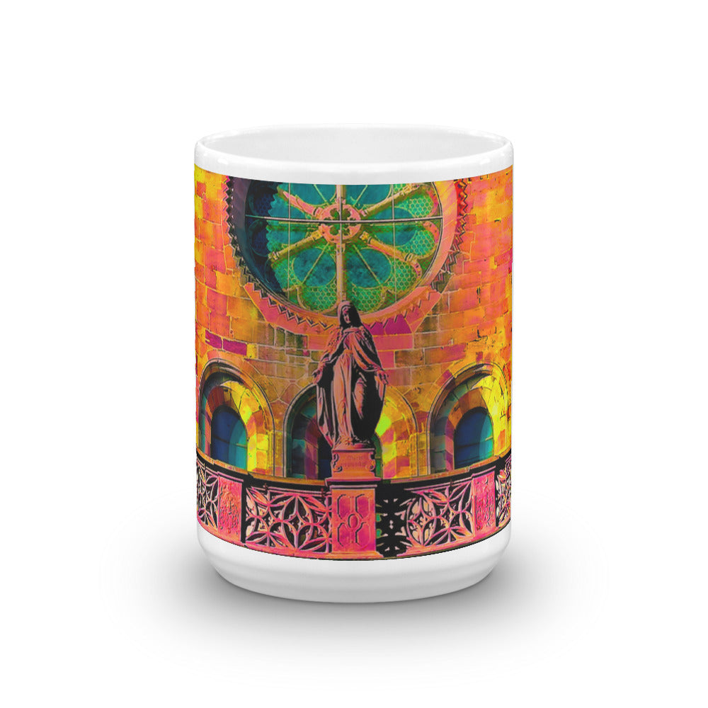 Artistic Holy Maria Mug - Art Beauty Fashion