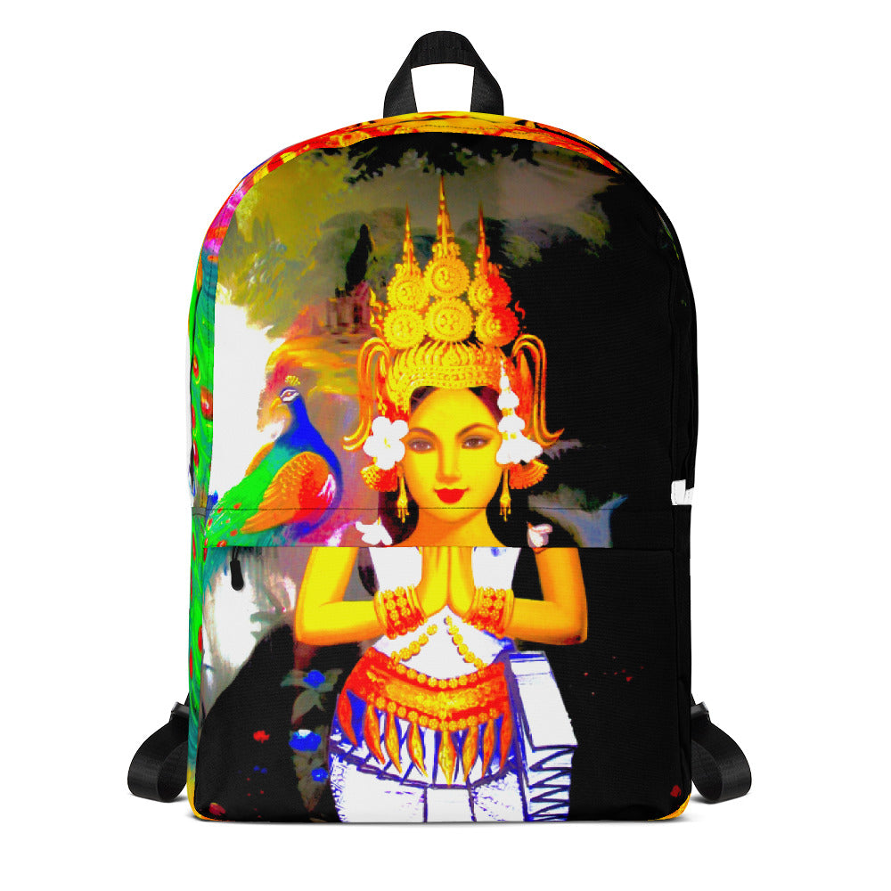 Oriental Modern - Backpack - Art Beauty Fashion