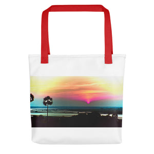 Indian Sunset - Artistic Fashion tote bag - Art Beauty Fashion