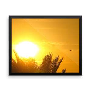 Want to bring the sun to your home with this Arabian Sunset photo paper poster Art? - Art Beauty Fashion