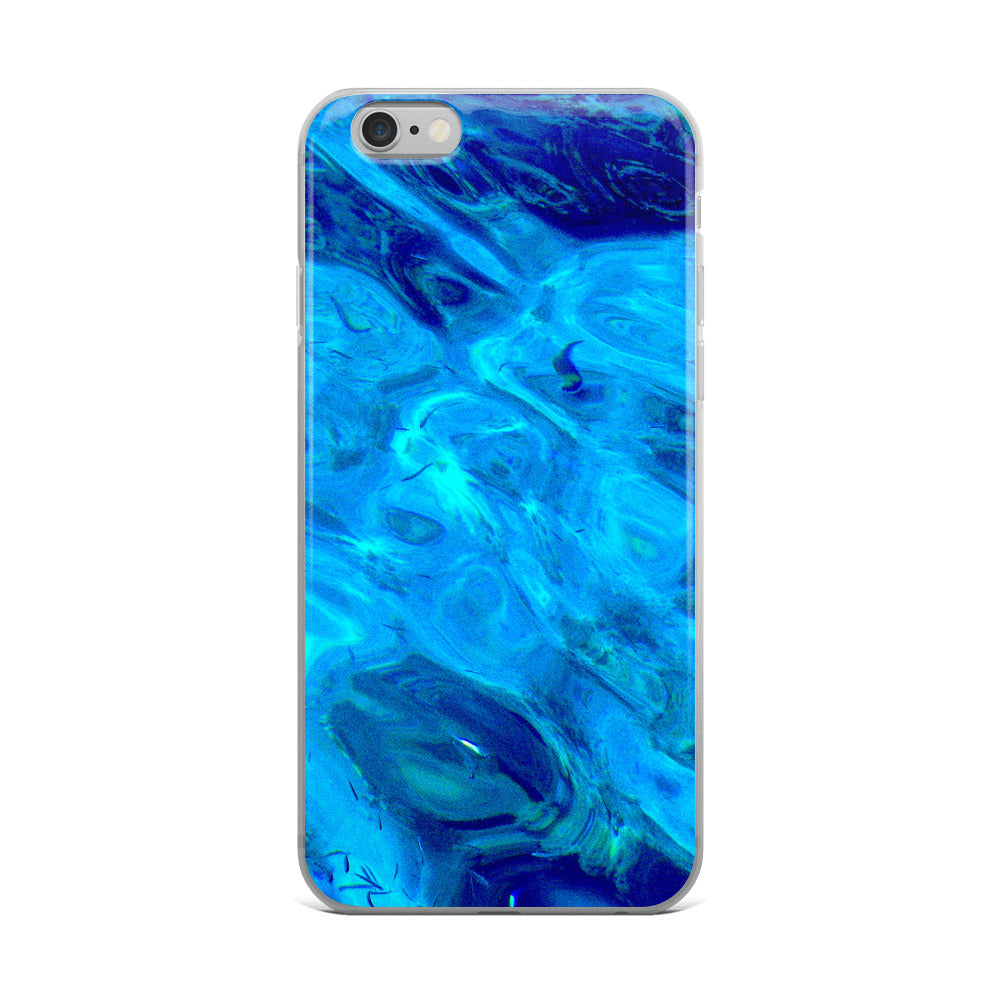 Ocean Style Study with small Fishes II - iPhone Case - Art Beauty Fashion