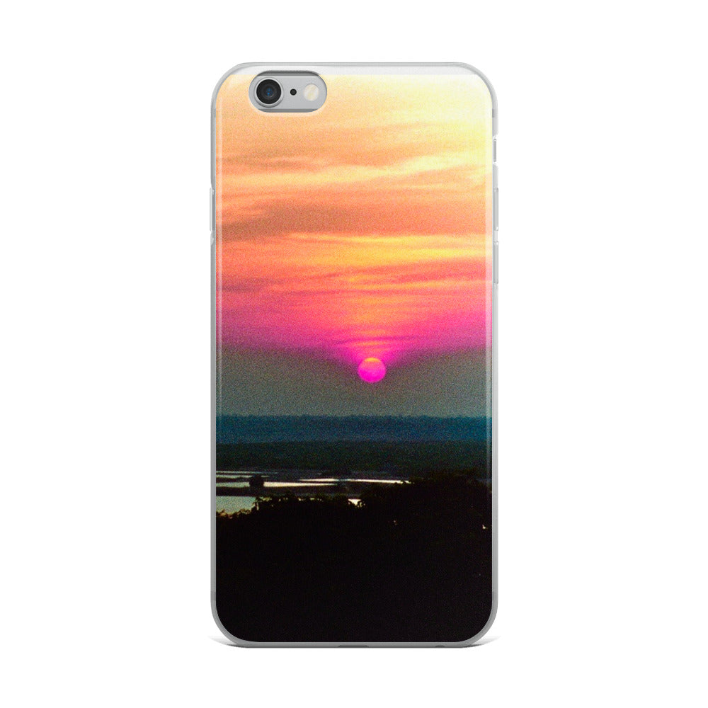 Artistic Indian Sunset - iPhone Case - Art Beauty Fashion