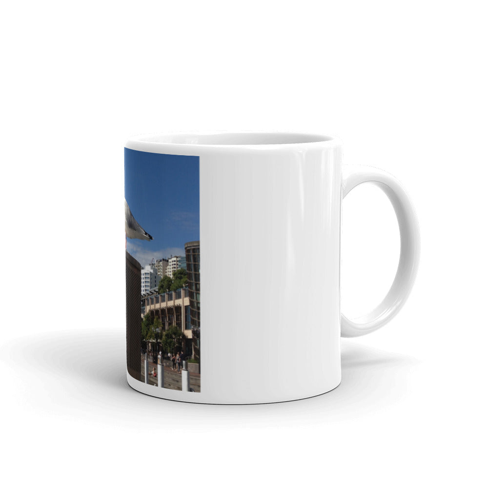 Sydney Seagull Mug - Art Beauty Fashion