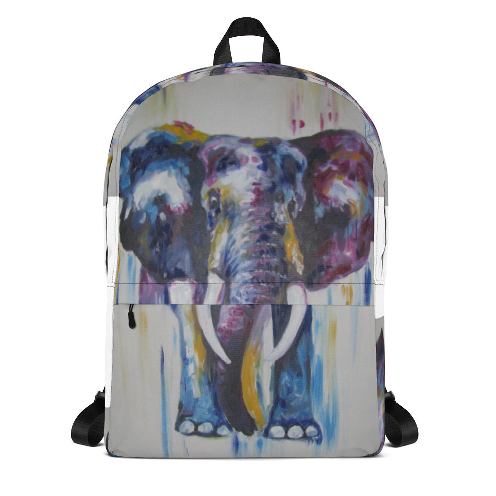 Elephant - Backpack - Art Beauty Fashion