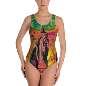 Artistic One-Piece Swimsuit - Art Beauty Fashion