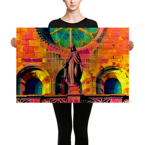 Modern art holy Maria Canvas - Respectful Impressions of the holy Maria in Modern Art - Art Beauty Fashion