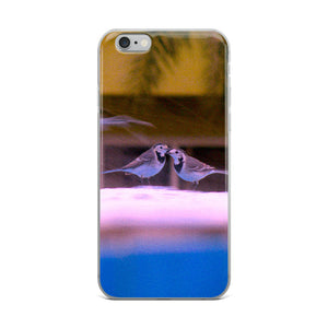 Loving Birds Couple - iPhone Case - Art Beauty Fashion