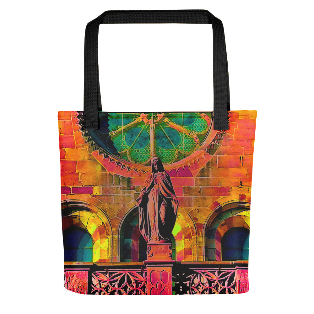 Artistic holy Maria tote bag - Art Beauty Fashion