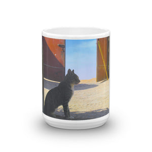 Desert Cat Mug - Art Beauty Fashion