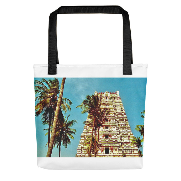 Trendy Indian Temple - Tote bag - Art Beauty Fashion