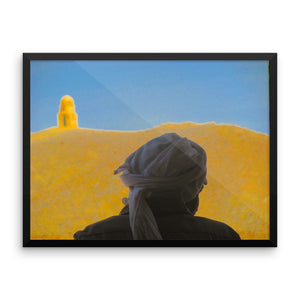 Bedouin Style Study - Framed photo paper poster - Art Beauty Fashion