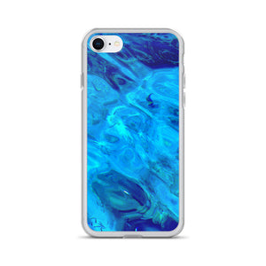 Water Style Study of the red sea with small Fishes II - iPhone Case - Art Beauty Fashion