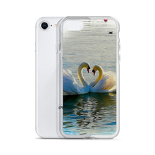 Romantic Swan Love, lake of Zurich - iPhone Case - Art Beauty Fashion
