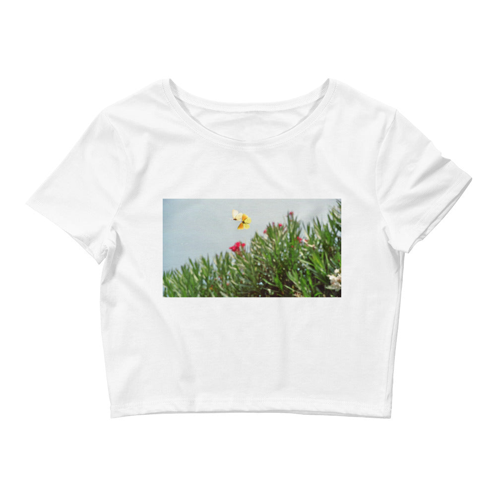 Artistic - Women's Crop Tee - Art Beauty Fashion