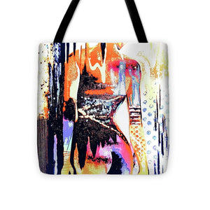 Naked Woman In Colour - Tote Bag - Art Beauty Fashion