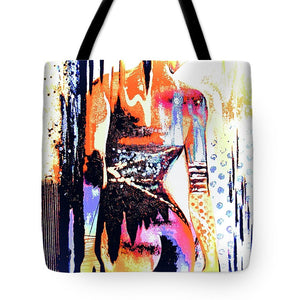Naked Woman In Colour - Tote Bag - Artphotography - NEW