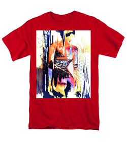 Naked Woman In Colour - Men's T-Shirt  (Regular Fit) - Art Beauty Fashion