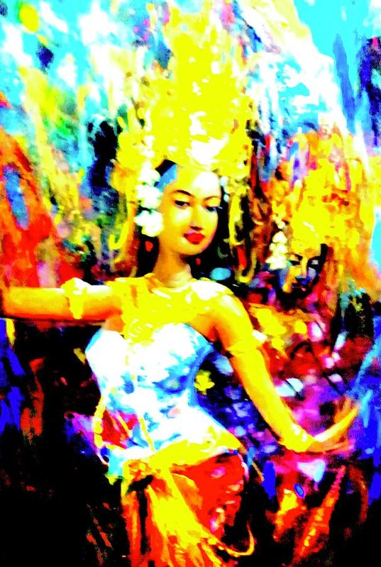 Oriental Dance - Art Print - Art Beauty Fashion