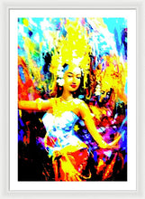 Oriental Dance - Framed Print - Art Beauty Fashion