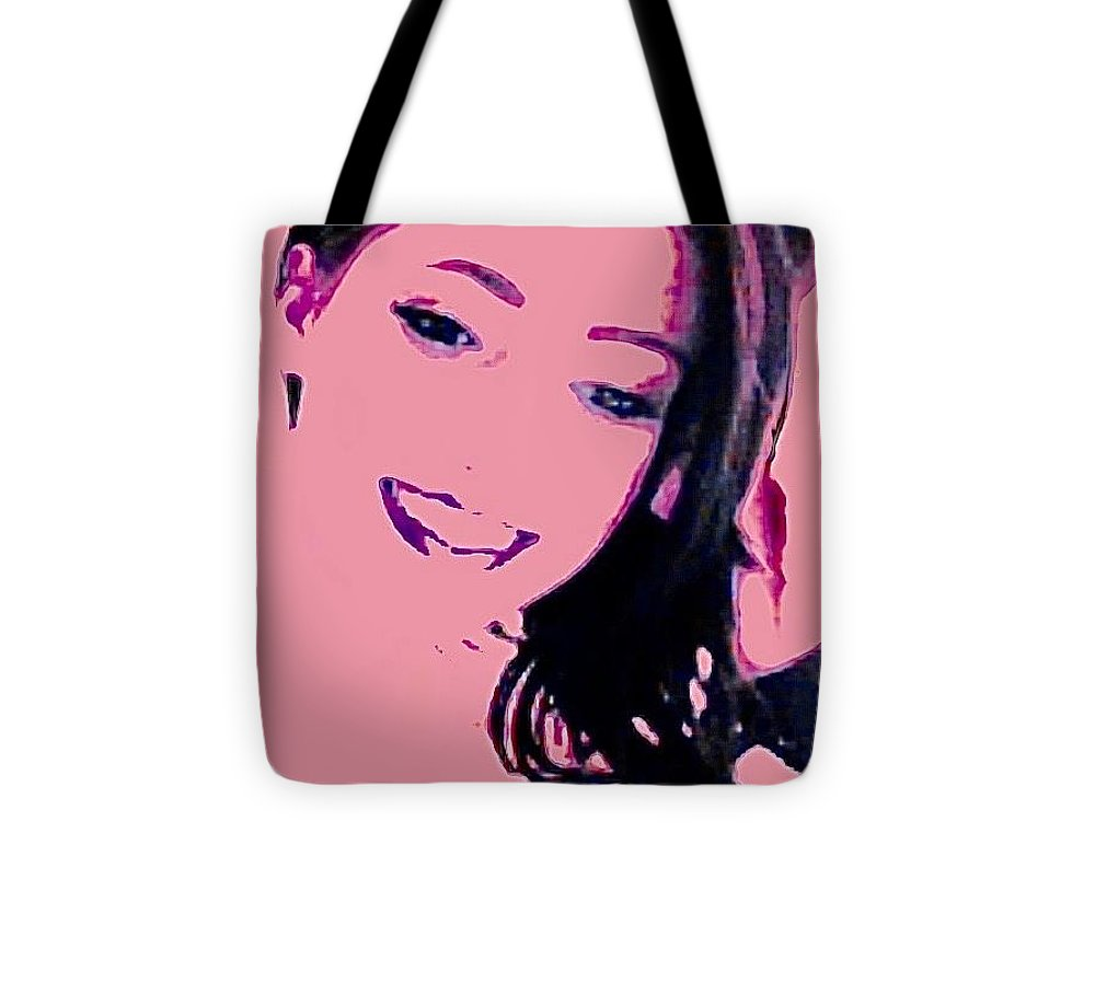 Pink Beauty - Tote Bag - Art Beauty Fashion
