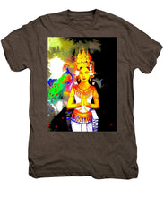 Praying Woman - Men's Premium T-Shirt - Art Beauty Fashion