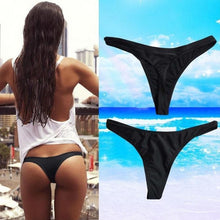Women Sexy Bikini Swimwear Beach Bathing T-Back Bottom Thong G-string L - Art Beauty Fashion