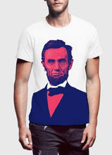 Abraham Lincoln Portrait T-Shirt - Art Beauty Fashion
