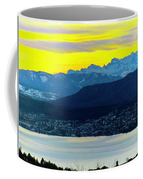 Switzerland Lake Study - Mug - Art Beauty Fashion