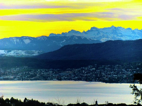 Bring Switzerland and its mountains to your home with this Lake Study - Art Print - Art Beauty Fashion