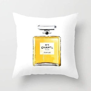 Chanel 5 Cushion/Pillow - Art Beauty Fashion