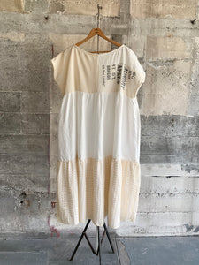 Swing Dress in Neutrals