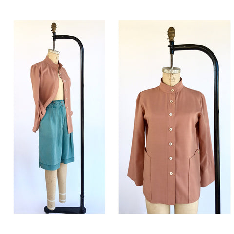 1970's Lightweight Terracotta Jacket