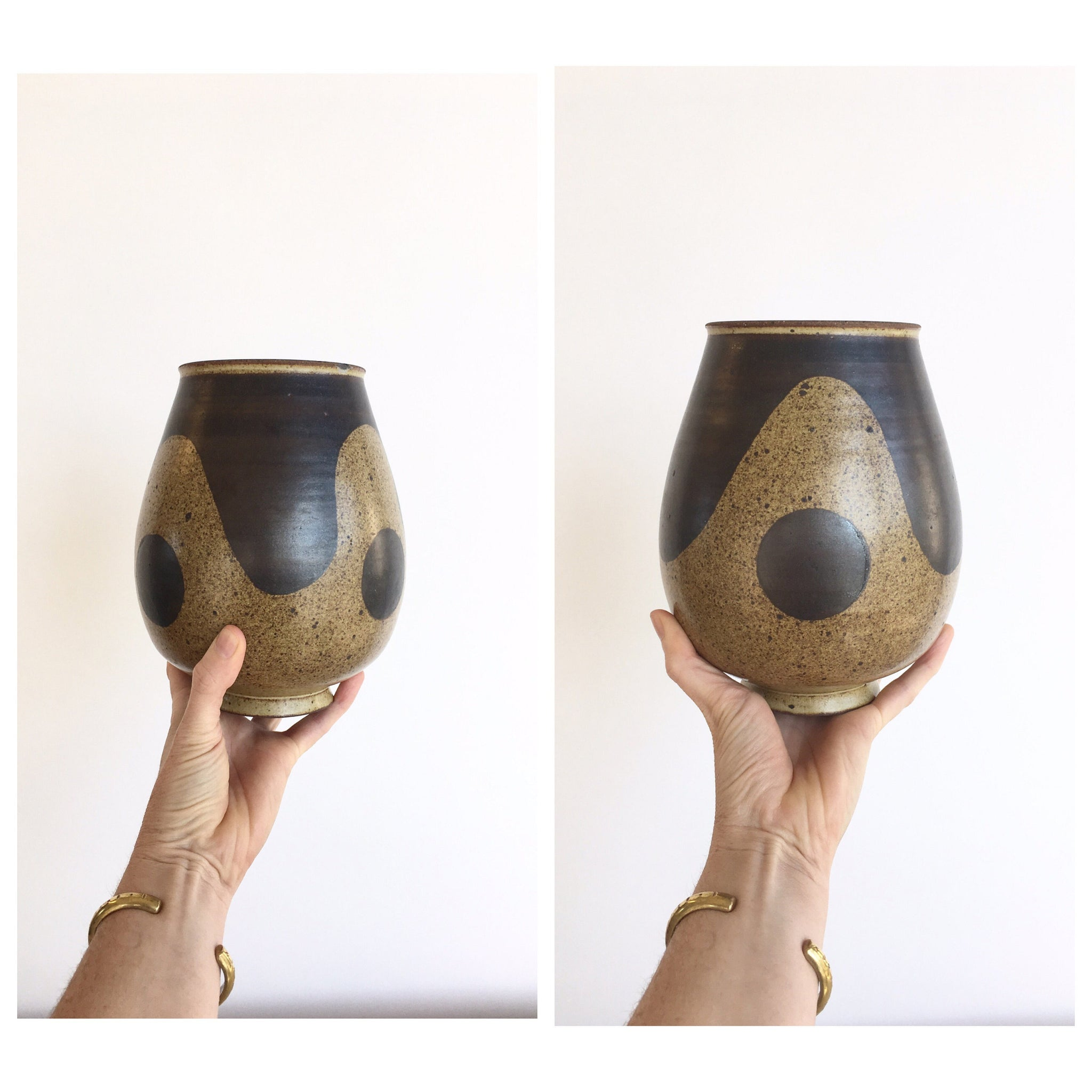 Mid Century Abstract Ceramic Vase