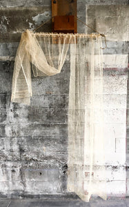1930s Deadstock Sheer Woven Curtain Panels