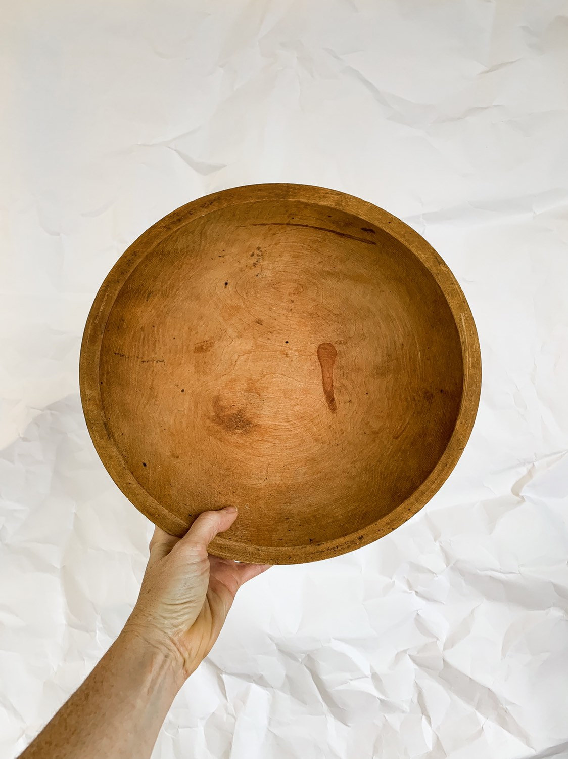 Wooden Serving Bowl by Munising