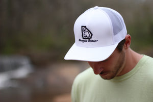 White Georgia Cotton hat