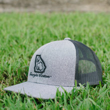 Georgia Cotton Apparel Trucker Hat in Heather Gray and Black