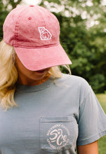 Georgia Cotton Classic Hat in Red