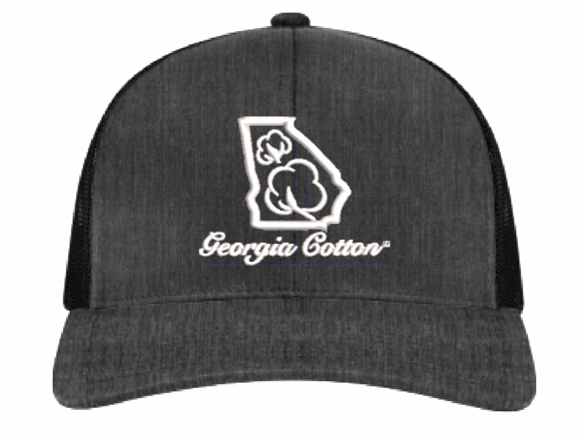 f7c65cf5996 Georgia Cotton Mesh Back Hat in Heather Black – Southern Cotton Apparel